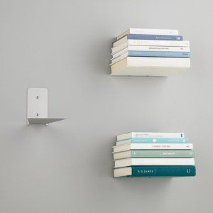 2 Umbra Floating Bookshelves